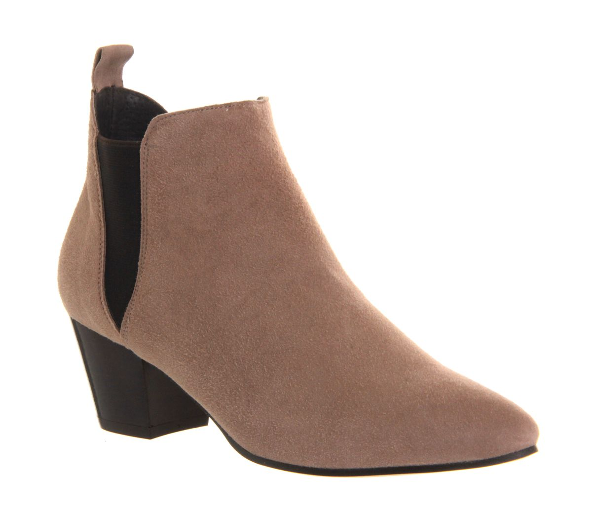 Coolcat almond toe chelsea ankle boots