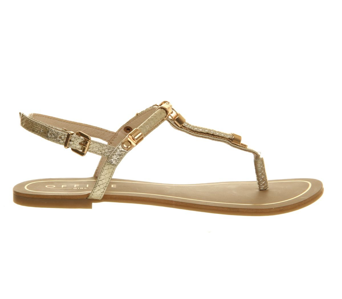 Harlow toe post flat sandals