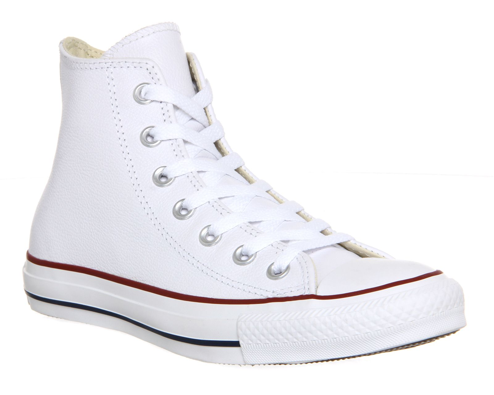 Converse Converse All Star HI Leather Trainers, White