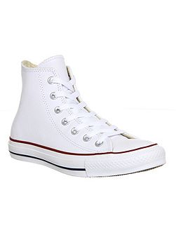 All star high leather trainers