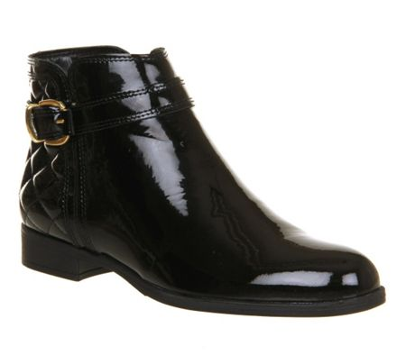 Office OFFICE COPPER SMART BUCKLE ANKLE BOOT