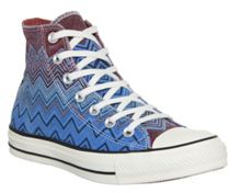 All star hi missoni print trainers