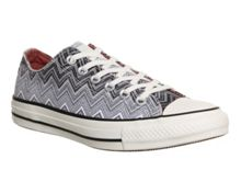 All star low missoni print trainers