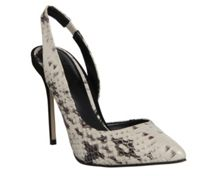 Premiere slingback point heel