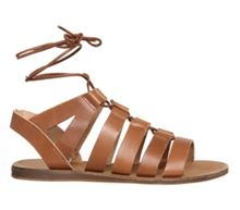 Odessa lace front sandals