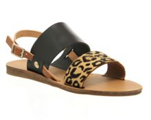 Office Ora double strap sling back sandals