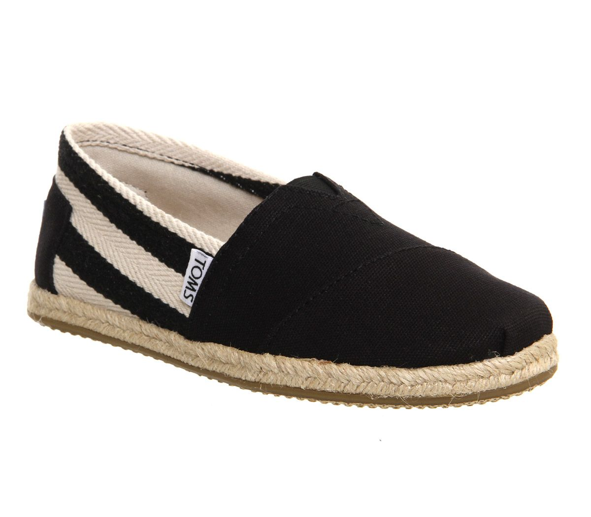 Toms University espadrilles Black