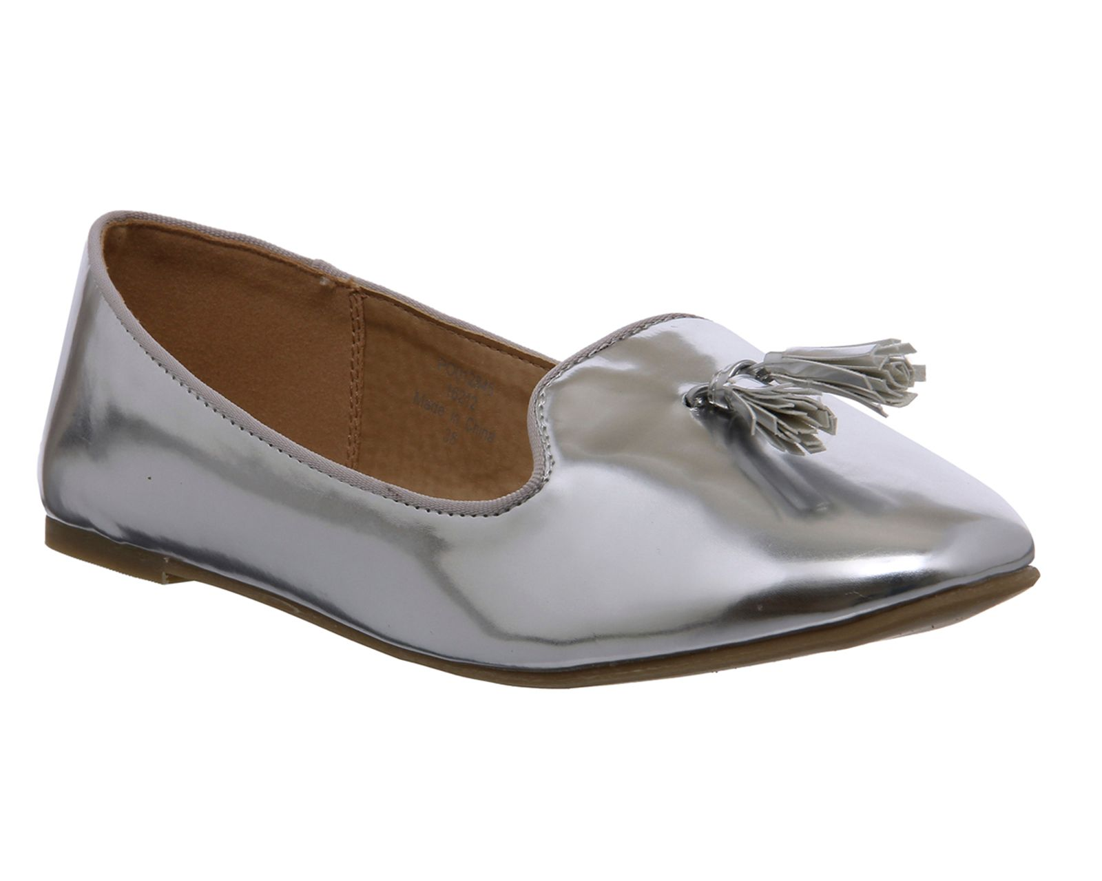 Office Kiwi slipper pumps, Silver