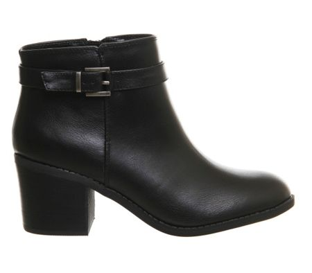 Office Favour buckle strap boots