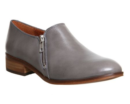 Office Lex side zip flats