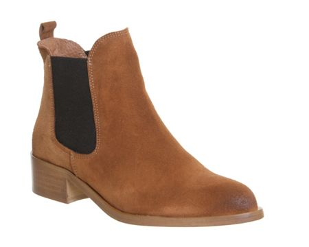 Office Corsa pointed block heel boots