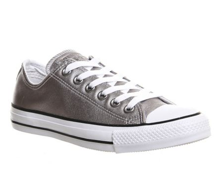 Converse Allstar low leather trainers