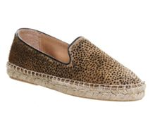 Leah slipper cut espadrilles