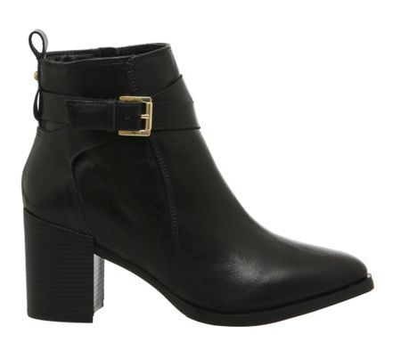 Office Izzy buckle ankle boots