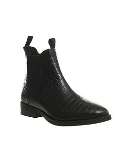 Cockney high cut chelsea ankle boots