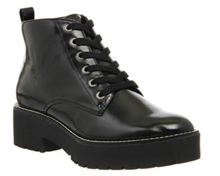 Iona chunky lace up ankle boots