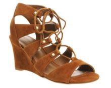Quartet ghillie wedge heels