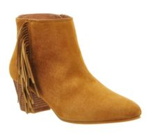Office Idaho fringe ankle boots
