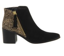 Office Coven side zip boots