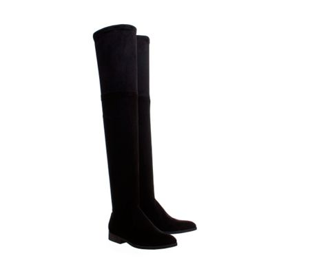 Office Eden skinny stretch knee boots
