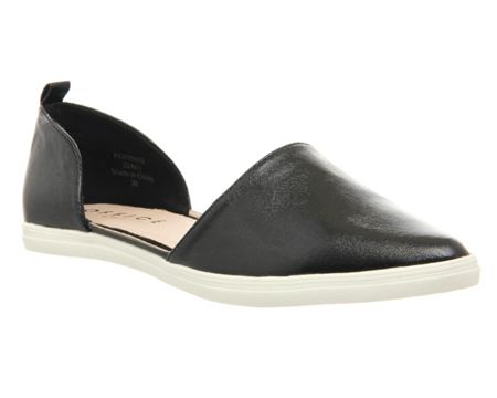 Office Razzel pointed trainers
