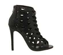 Tycoon cut out lace up shoe boots