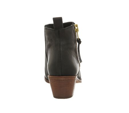 Office Imposter side zip ankle boots