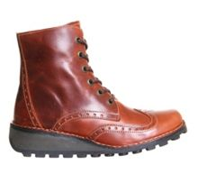 Fly Marl lace up boots