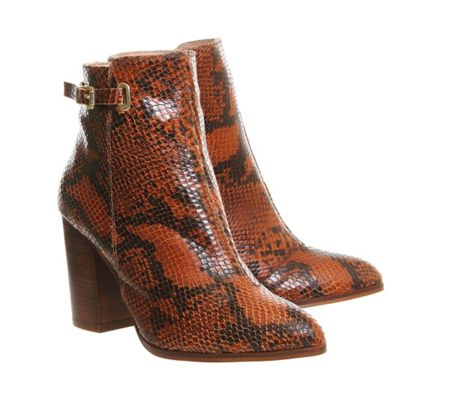 Office Fever smart ankle boots