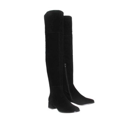 Office Esme block heel over the knee boots
