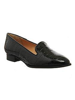 Rita high cut slipper loafers