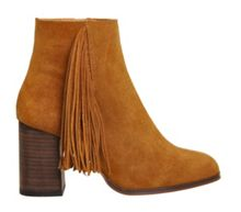Ideally square tassle boots