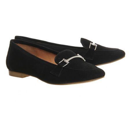 Office Detox snaffle trim loafers