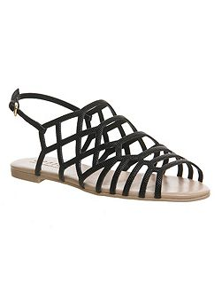 Beau caged sandals