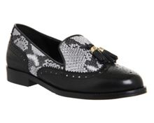 Office Ringo brogue slipper flats