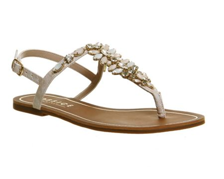 Office Blair embellished sandals