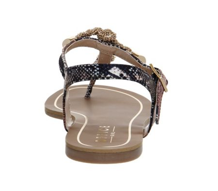 Office Bouffant t bar sandals