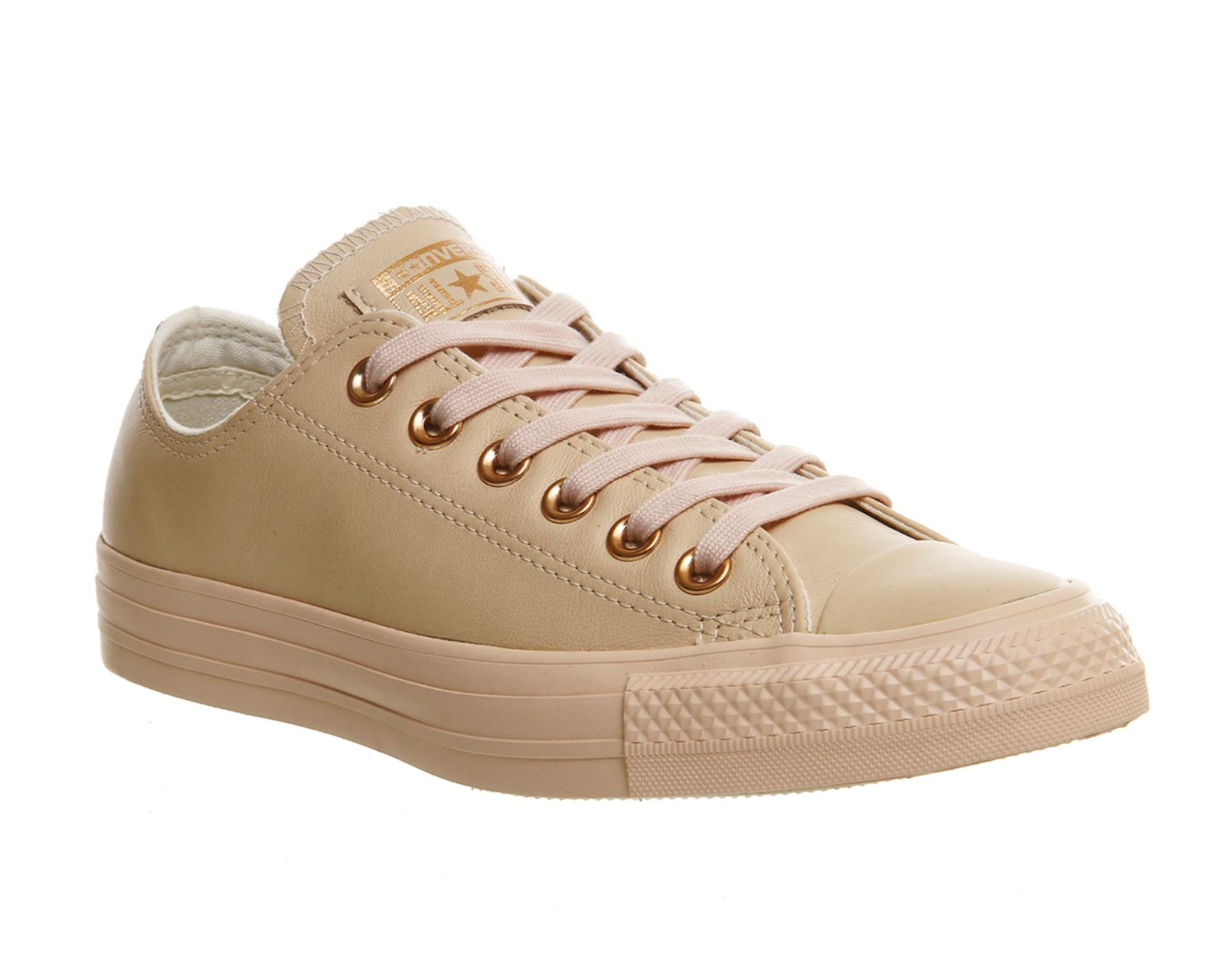 Converse All star low leather trainers, Multi-Pastel