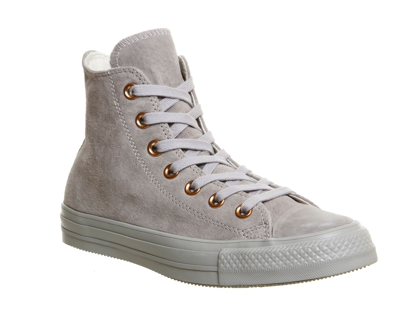 Converse All Star Hi Leather Trainers, Grey