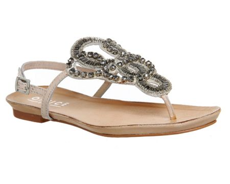 Office Bedazzle embellished sandals