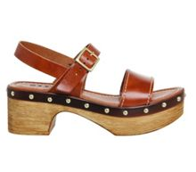 Office Mighty two strap clogs
