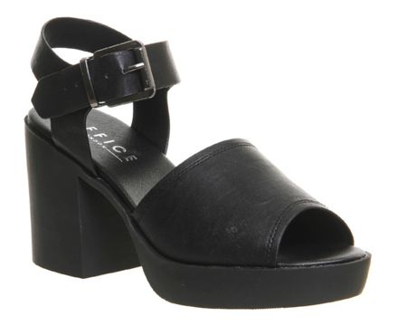 Office Mission chunky sandals
