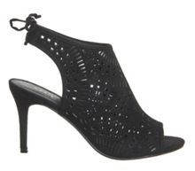 Milly lasercut peeptoe shoes