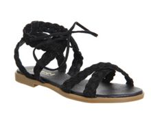 Office Boho plaited sandals