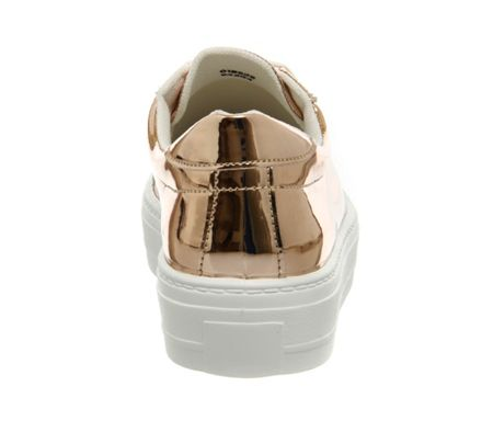 Office Diva flatform lace up trainers