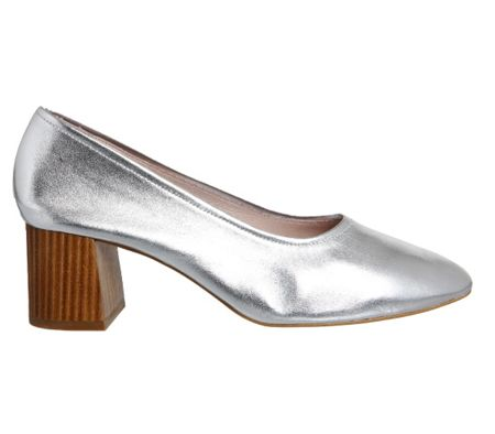 Office Mia block heel ballet heels