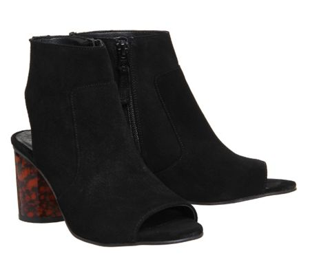 Office Marley block heel shoe boots