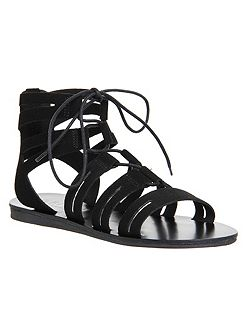 Banshee lace up gladiator sandals