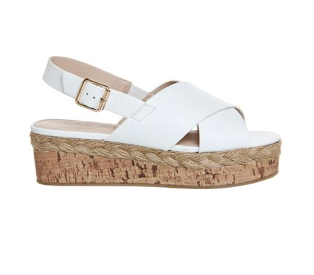 Office Myles chunky flatform sandals