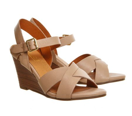 Office Mayday wedge sandals